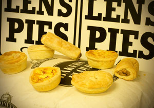 Tasty pies and savouries